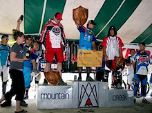 Rennie is runner up at the US OPEN of Mountain Biking
