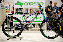 Kelly McGarry's custom Corsair was one of several bikes stolen from Interbike last night. If you see this bike please report it to the police immediately