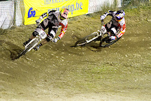 during round 1 of the Schwalbe 4X Pro tour at , , Belgium, 13April,2012, Photo: Charles Robertson