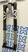 X-Fusion Prototype Inverted Fork - Eurobike 2012