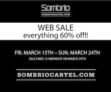 Sombrio Web Sale