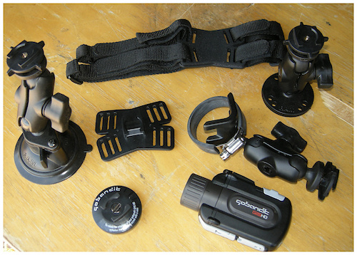HD GPS camera mounts