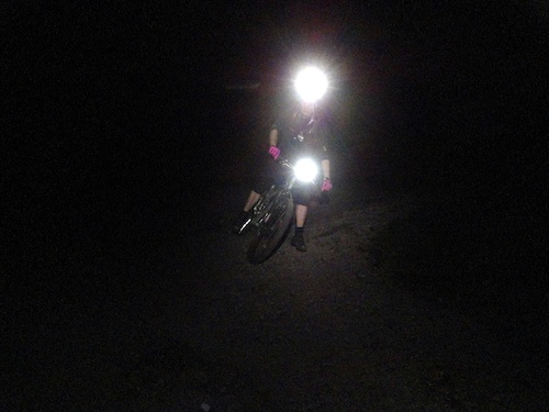 Nightbiking at Brunssummerheide, it was fun!
