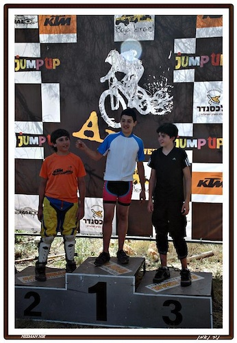 My First All Mountain race , 2nd place