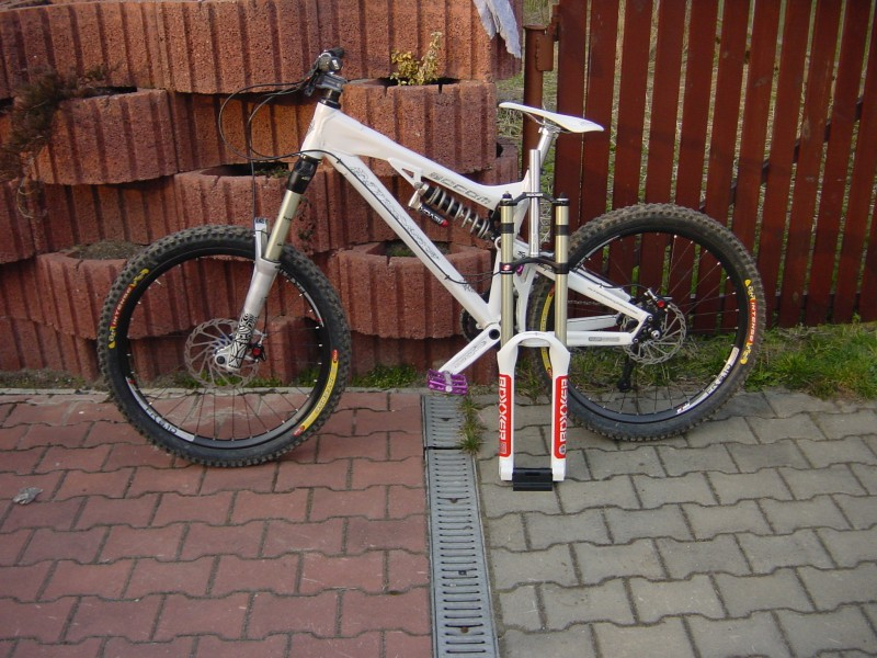 My Socom and second fork brand New Rock Shox Boxxer WC 2008