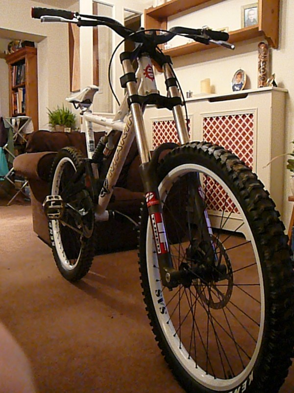 My old DH bike