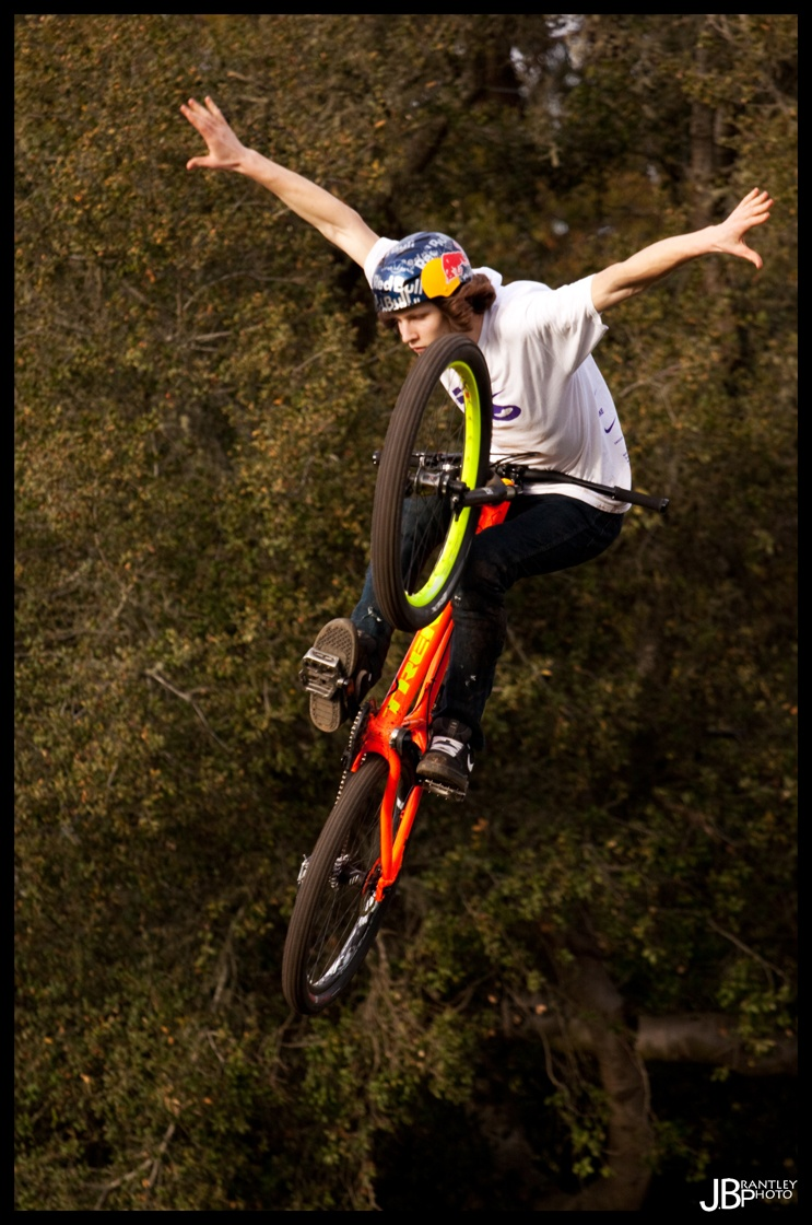 Brandon with an amazing tuck no hander!