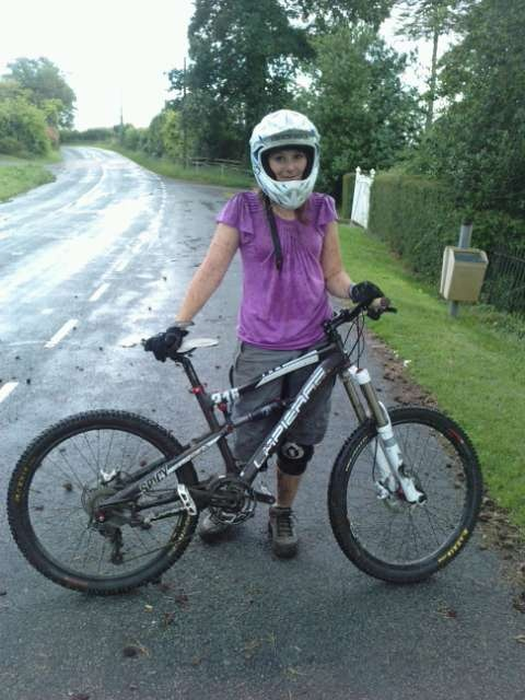 bit muddy after some good riding