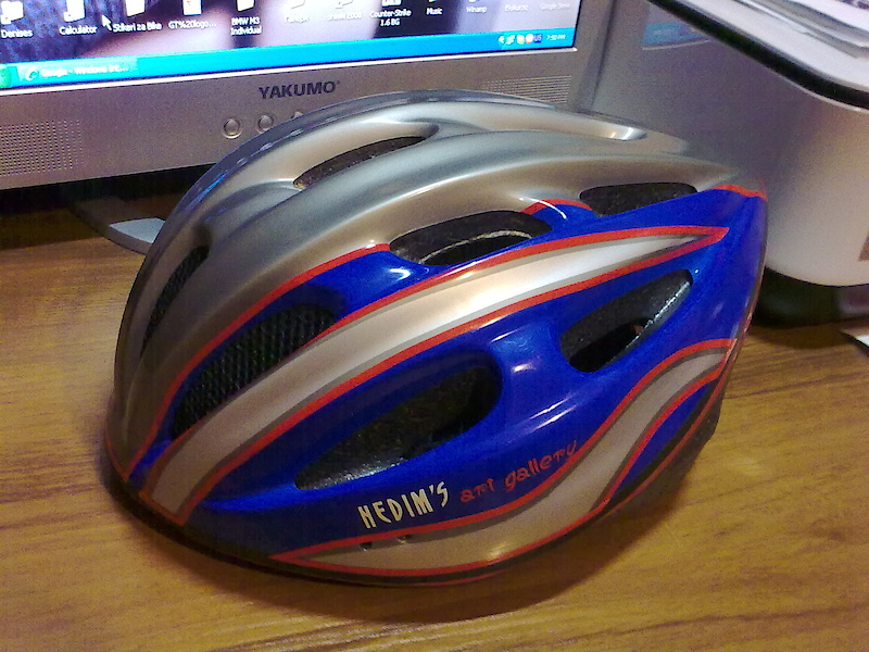 I made a few changes of my helmet.