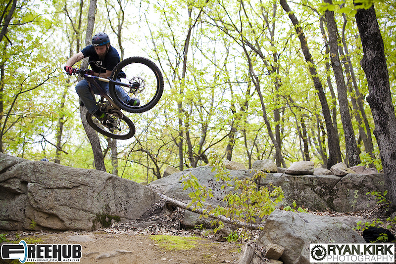 Rider Dane Burke setting the table at Vietnam in Milford, MA.