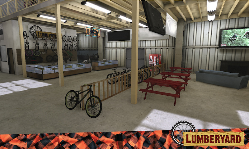 Renderings for the LUmberyard.