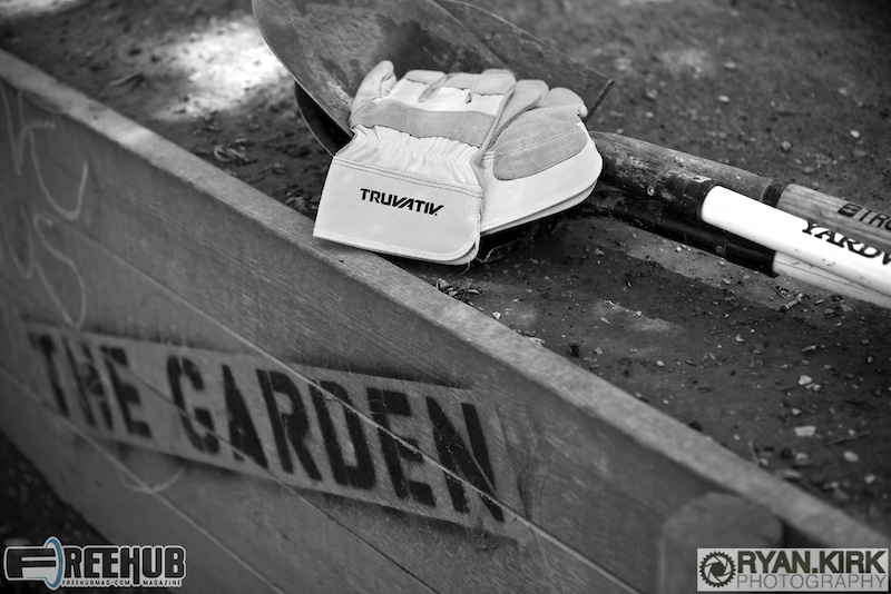 The tools await their captains at the Garden DJ's on Chicago's Northwest side.
