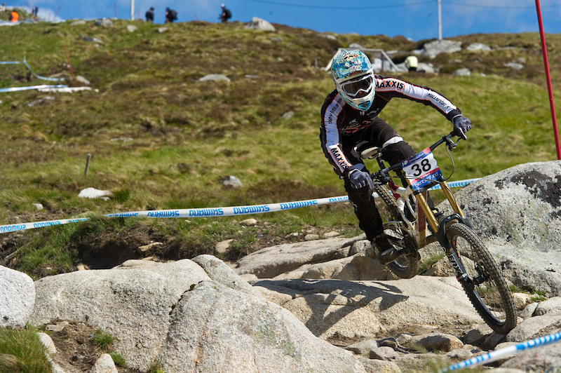 On course at Fort William.