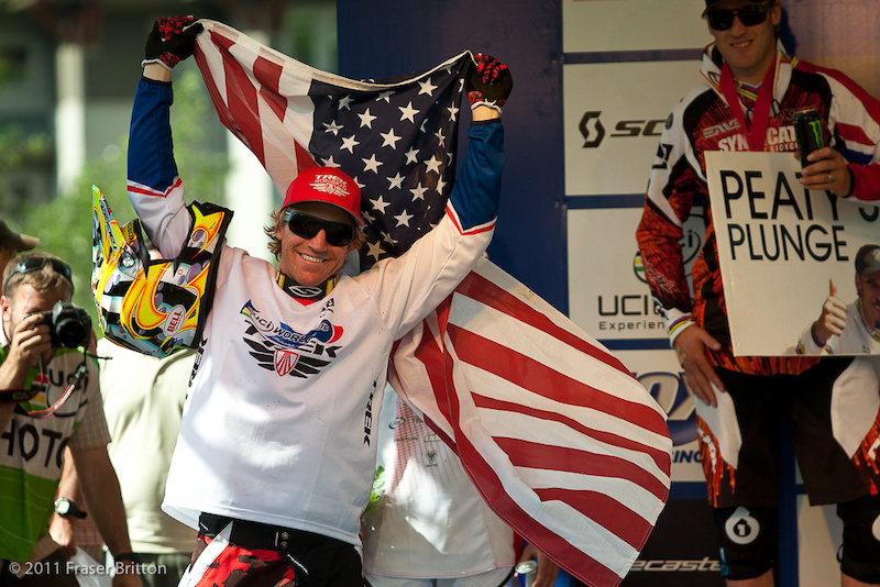 Aaron Gwin wins the Windham WC DH