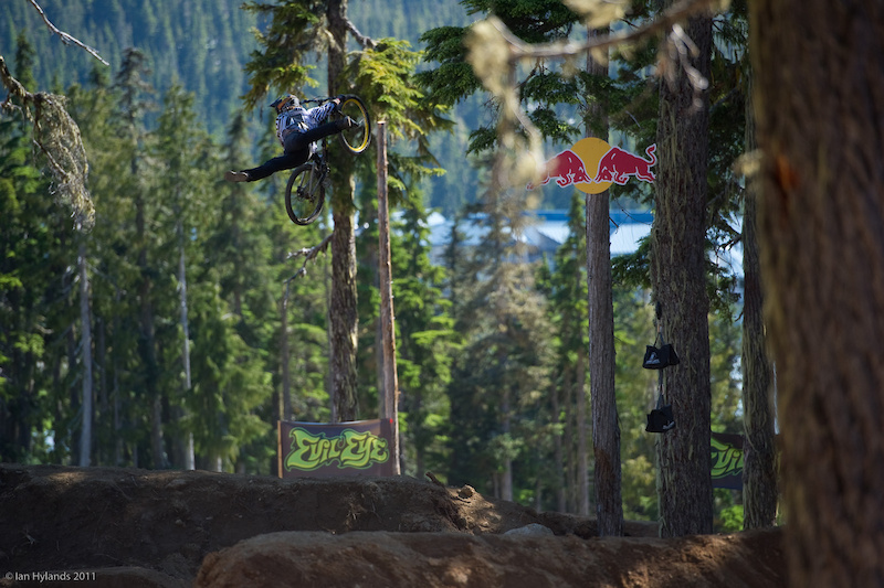 Cam McCaul came here to have a good time and ride his bike. Mission accomplished 