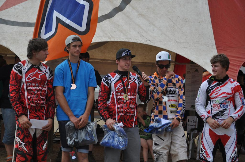 Ricky Clarke - Trailmix-Procon Racing Podium