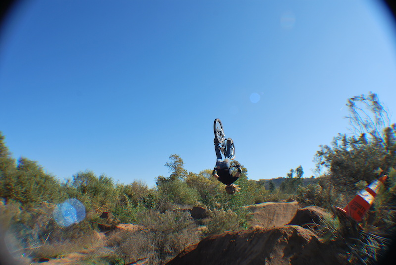 Backflip on the hip