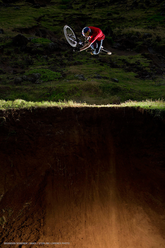 brandon semenuk in maui, hawaii