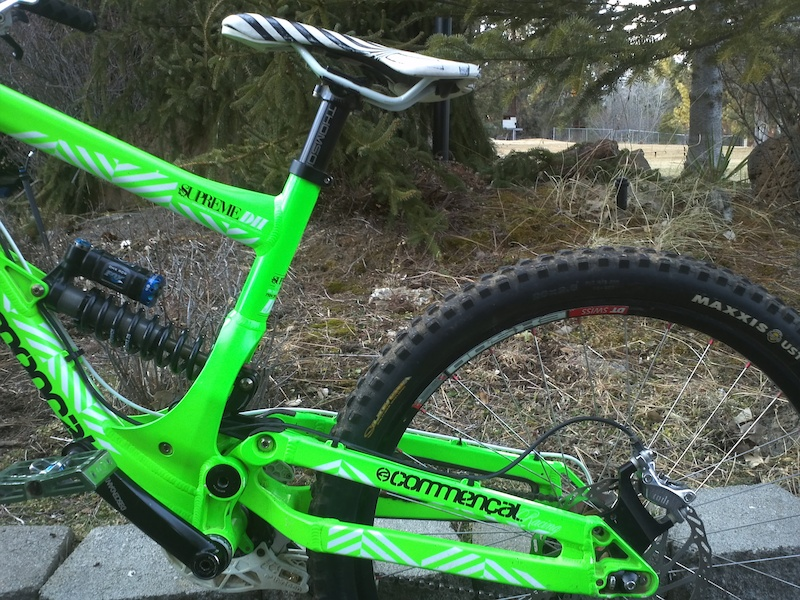 Commencal Supreme DH up for sale
