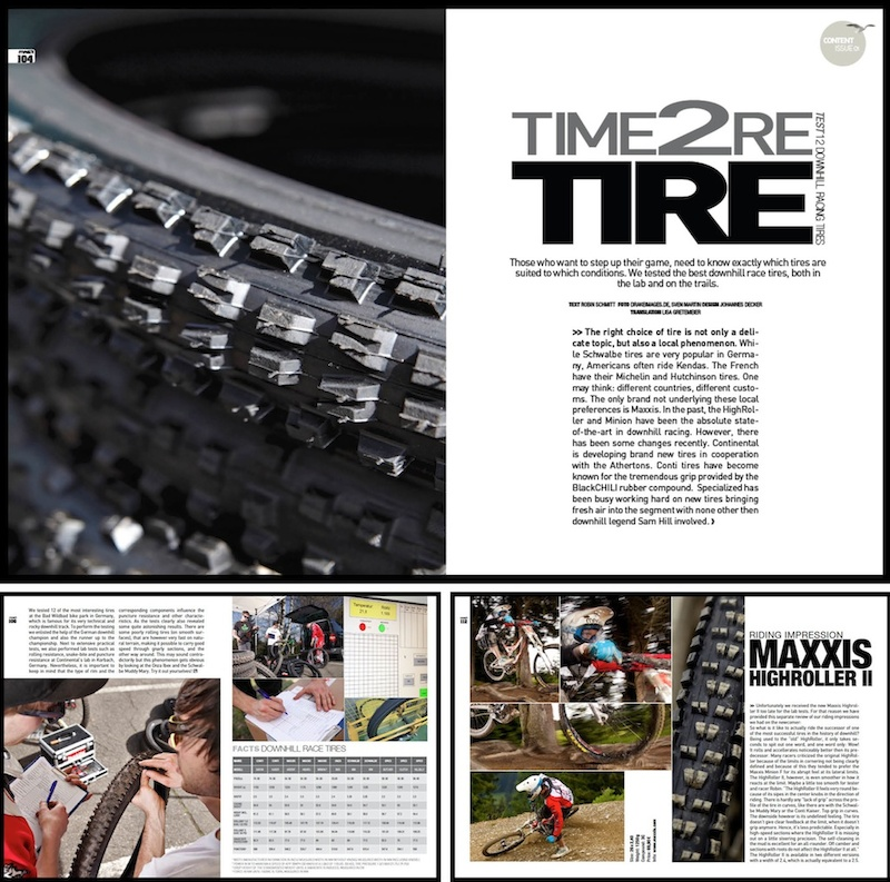 Screenshots of Mag41's first international issue - January 2012. 