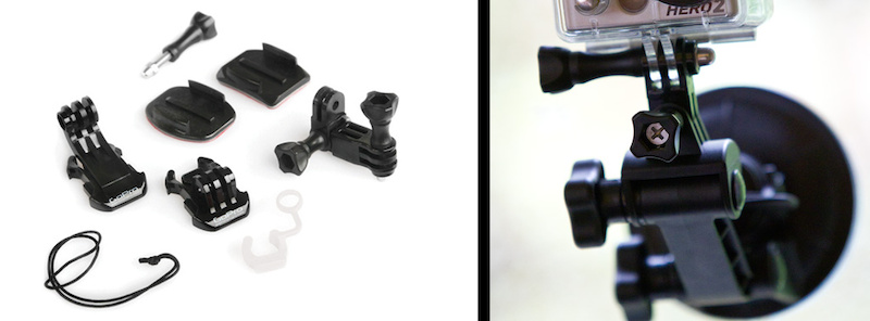 Go Pro HD Hero 2 Mounts