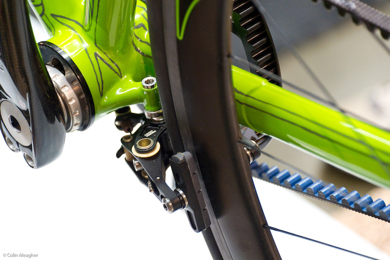 Brake mount detail...