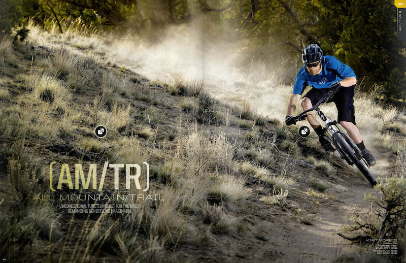 Kirt Voreis shoot for Fox Racing/Foxhead 2012 MTB Catalog