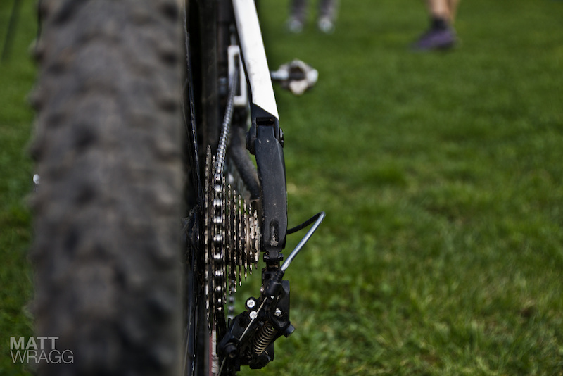 Mark Weir's Cannondale Fulcrum race bike.