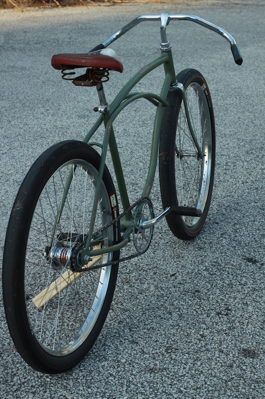 My 37 1954 Schwinn Ladies Balloon Tire Rat Rod Bikes