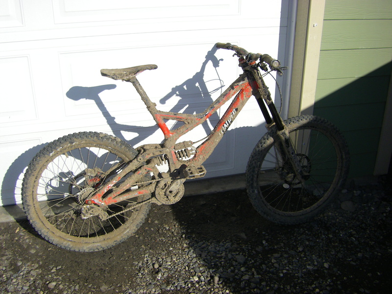 Aftermath of the first ride of 2012