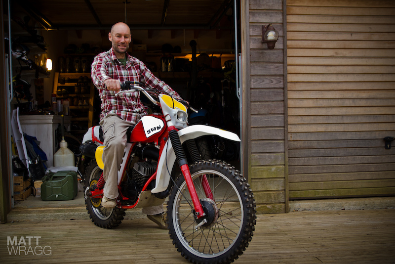 1978 SWM 125cc motocross bike.