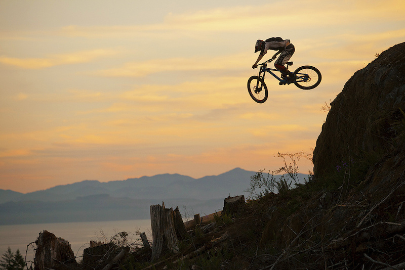 Brendan will be with PerformX Young Guns and again ripping aboard his Commencal V3 for 2012. Photo by Mike Zinger