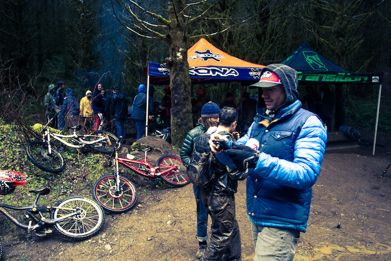 It's all about the memories. Lars wasn;t riding this weekend, but he was taking plenty of pictures and keeping the campfire going for those who were.