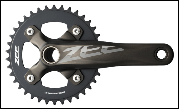 Shimano Zee DH Crankset 2013