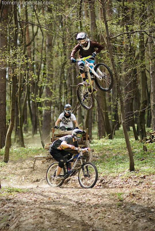Wicked action in woods with me, Szaman and Filip