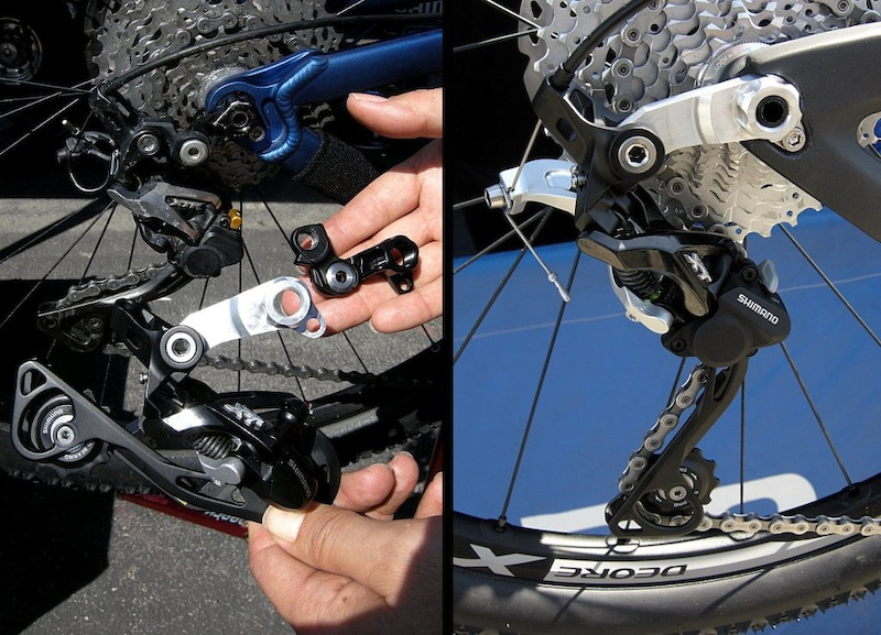 Multi image Pivot Direct Mount Shimano Der.
