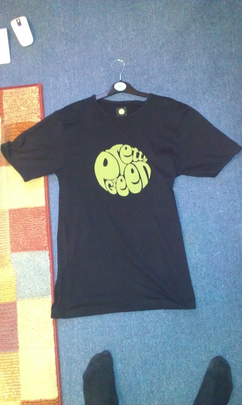 Pretty Green T-Shirt In Black (Small)