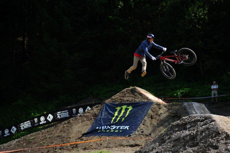 Semenuk during 26TRIX fueled by Monster Energy 2011