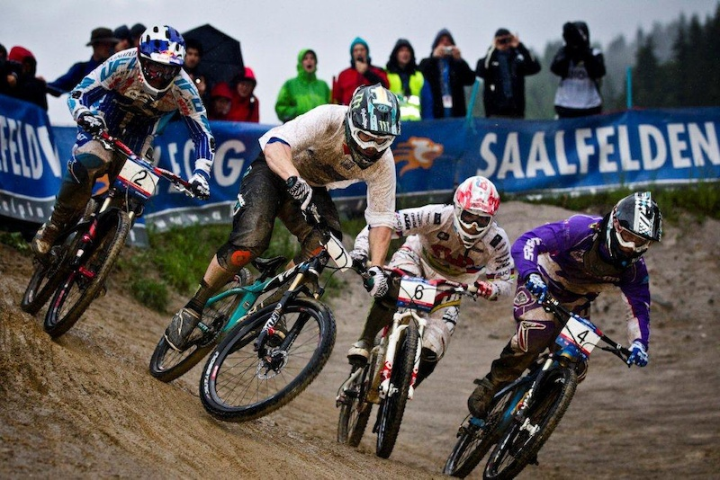 Final of the UCI 4x World Cup in Leogang