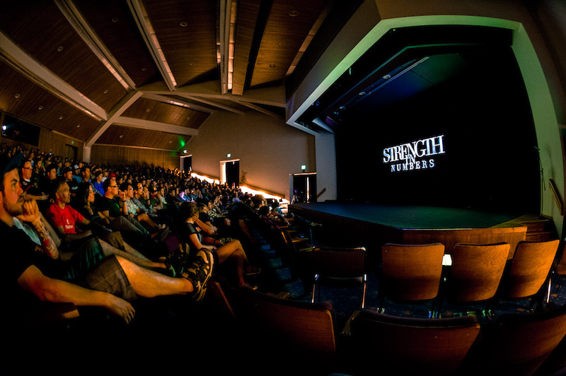 Strength in Numbers movie premier in Monterey.