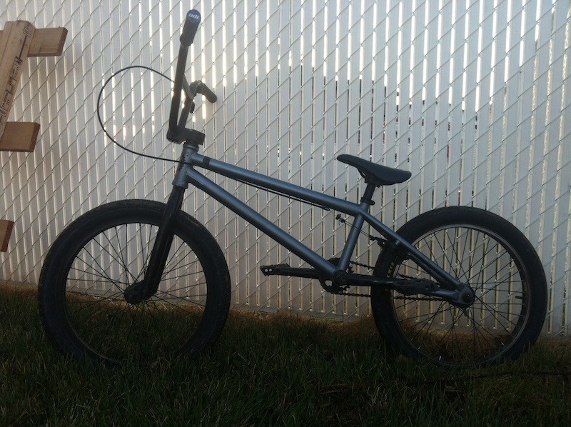 New bmx with salt brake