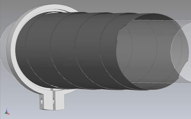 fork sleeve suspension