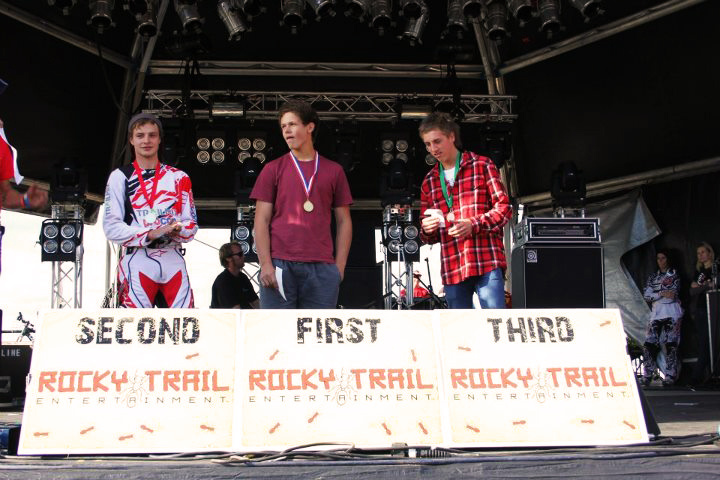 Newton s Nation Male Under 19 s podium