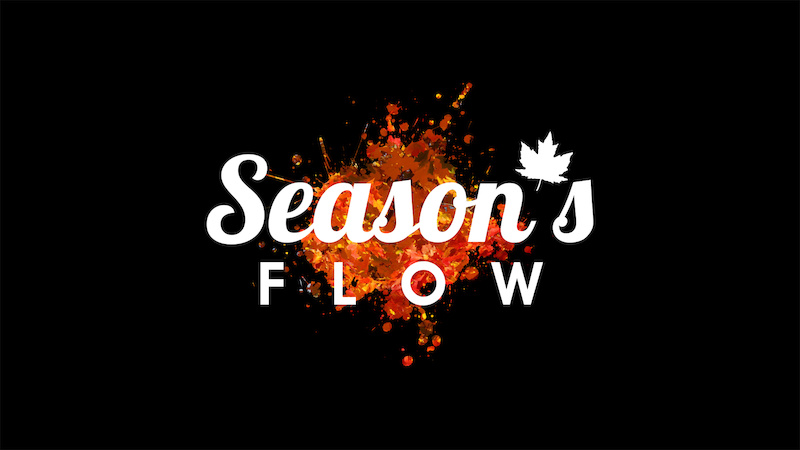 this is the logo for my short film called Season s Flow thanks to Andrew Hornor for making it for me http www.pinkbike.com video 262455