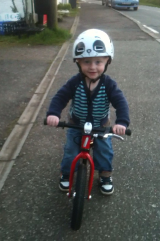 The lad and his bike