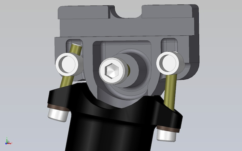 thomson to i-beam adapter design