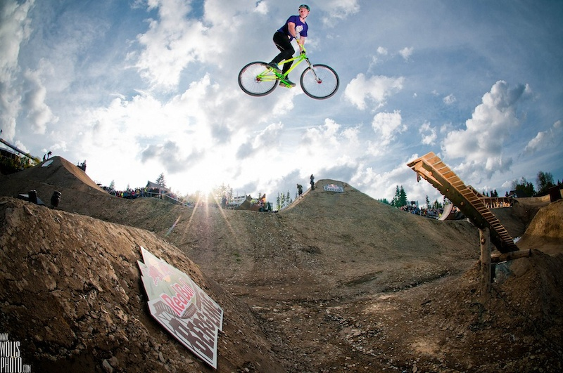 NS Bikes and Sam Pilgrim at Red Bull Berg Line - FMB World Tour Gold event in Bikepark Winterberg.