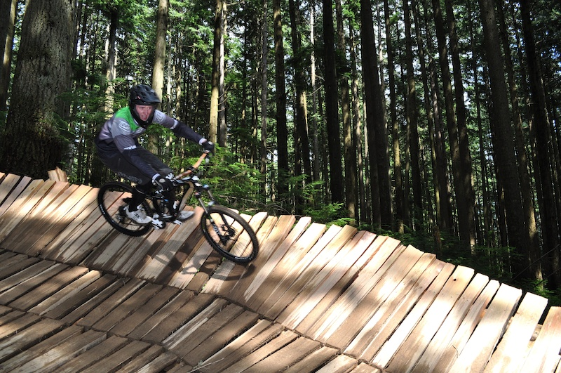 Props to the builders and crew who make this trail as rad as it is.