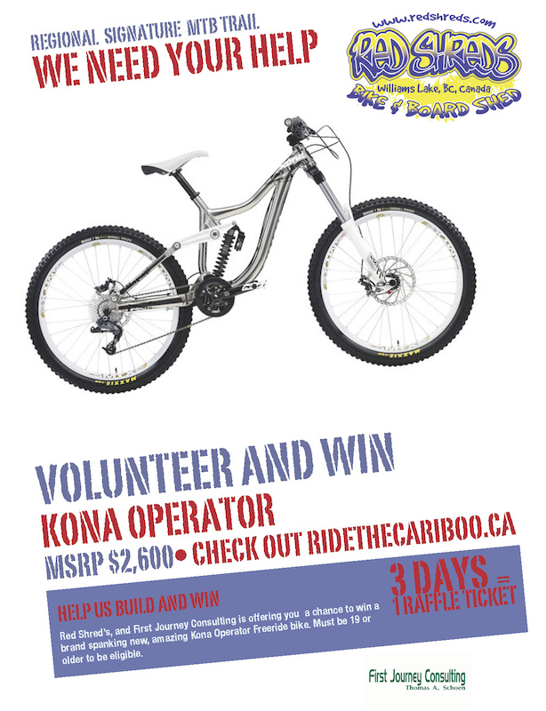 Volunteer and Win