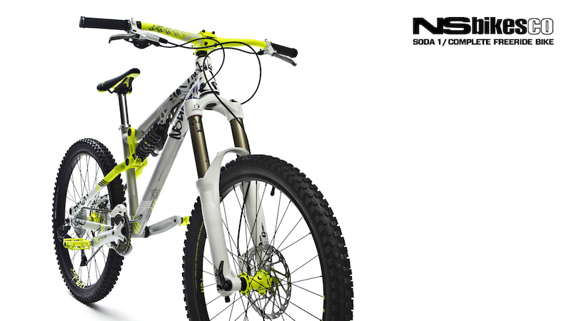 We could not forget about our NS Bikes Soda. For all freeriders out there - here it is on our next wallpaper.